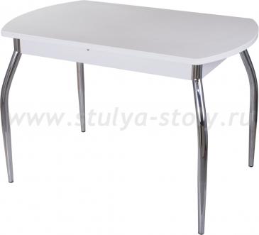 Стол обеденный Альфа ПО-1 КМ 04 (6) БЛ 01 венге