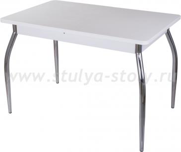 Стол обеденный Альфа ПР-1 КМ 04 (6) БЛ 02 белый