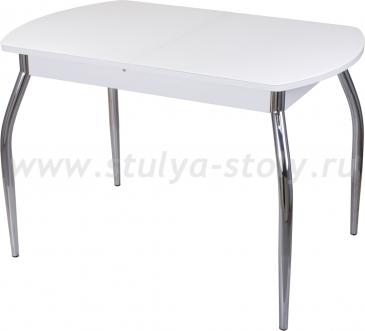 Стол обеденный Гамма ПО-1 БЛ ст-БЛ 01 (белый)