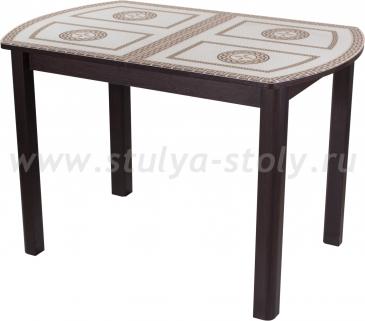 Стол обеденный Гамма ПО-1 ВН ст-71 04 ВН (венге с греческим орнаментом)