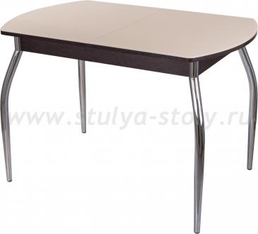 Стол обеденный Гамма ПО-1 ВН ст-КР 01 (кремовый с венге)