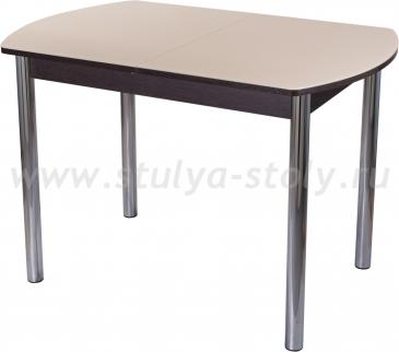 Стол обеденный Гамма ПО-1 ВН ст-КР 02 (кремовый с венге)