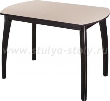 Стол обеденный Гамма ПО-1 ВН ст-КР 07ВН (кремовый с венге)