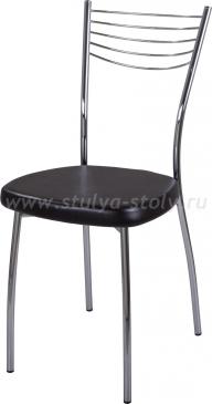 Стул кухонный Омега-1 В-4/В-4 черный венге, повышенной комфортности