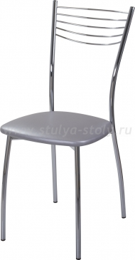 Стул кухонный Омега-1 С-1 серебристый (серый)
