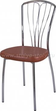 Стул кухонный Омега-3 В-3/В-3 коричневый, повышенной комфортности