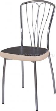 Стул кухонный Омега-3 В-4/В-1 черный венге/бежевый, повышенной комфортности