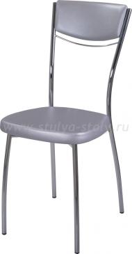 Стул кухонный Омега-4 C-1/C-1 спC-1/C-1 серебристый (серый), повышенной комфортности