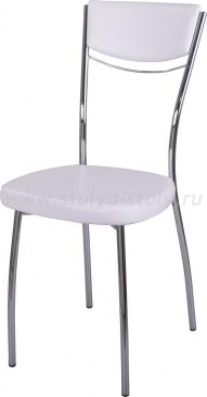 Стул кухонный Омега-4 В-0/В-0 спВ-0/В-0 искрящийся белый, повышенной комфортности