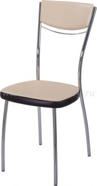 Стул кухонный Омега-4 В-1/В-4 спВ-1/В-4 бежевый/венге, повышенной комфортности