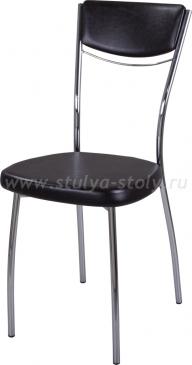 Стул кухонный Омега-4 В-4/В-4 спВ-4/В-4 черный венге, повышенной комфортности