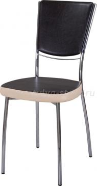 Стул кухонный Омега-5 В-4/В-1 спВ-4/В-1 черный венге/бежевый, повышенной комфортности