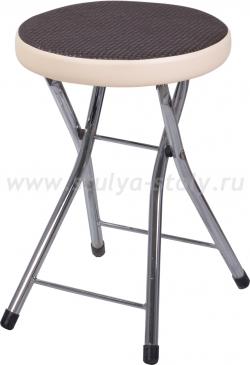 Кухонный табурет Соренто F-4/В-1 черный венге/бежевый, повышенной комфортности