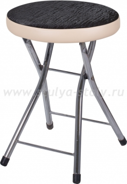 Кухонный табурет Соренто А-4/В-1 ченый венге с эффектом замши/бежевый, повышенной комфортности