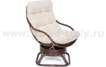 Кресло-качалка Flores (коричневый)