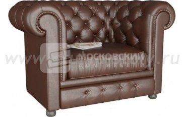 Кресло Честер коричневый (коричневый)