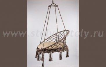 Подвесное кресло-качели Aruba (коричневый)