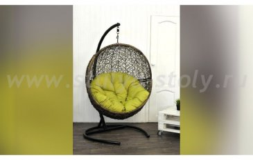 Кресло подвесное Lunar Coffee Y0068KD
