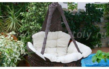 Подвесное кресло качели Cartagena (Картагена) (крем)