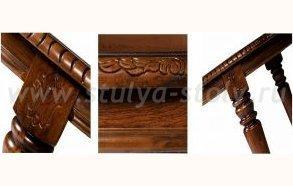 Обеденный стол Hwdt 4280-swl (коричневый)