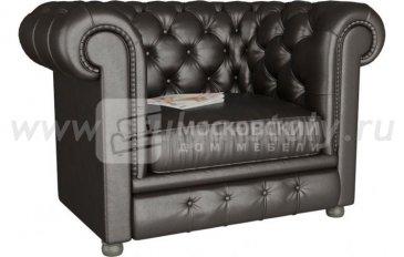 Кресло Честер черный (черный)