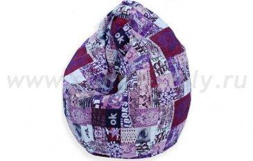 Кресло-мешок Спринт (фиолетовый)