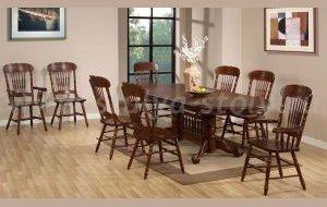 Обеденный стол Oakland-4296-swc, орех (коричневый)