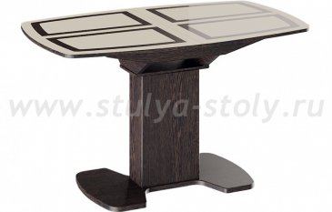 Монако Стол обеденный на деревянных ножках (1300)