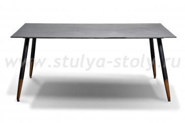 """""""Вилладжио"""" Обеденный стол 180х100см, столешница HPL, цвет серый гранит 12мм"""