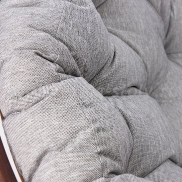 Кресло-качалка PAPASUN SWIVEL ROCKER c подушкой (серый)