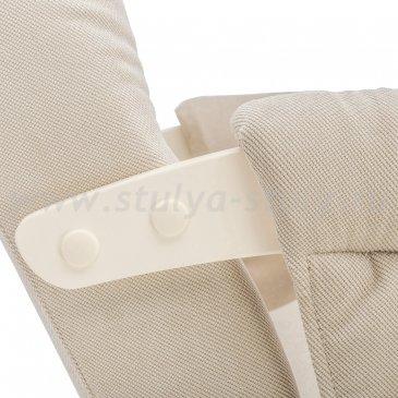 Кресло для кормления Milli Smile с карманами (Verona Vanilla)