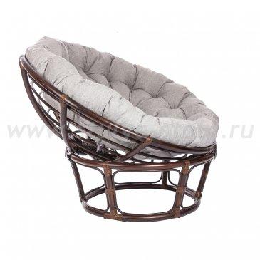 Кресло для отдыха PAPASUN CHAIR с подушкой (серый)