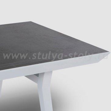 """""""Монтелло"""" Стол обеденный из алюминия (Серый)"""