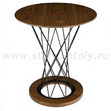 """Столик кофейный в стиле """"лофт"""" (дуб)"""