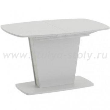 Честер Стол раздвижной Тип 2, Белый/Стекло белый глянец (оптивайт)