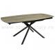 Стол обеденный керамический MC-1957DT  (орех)